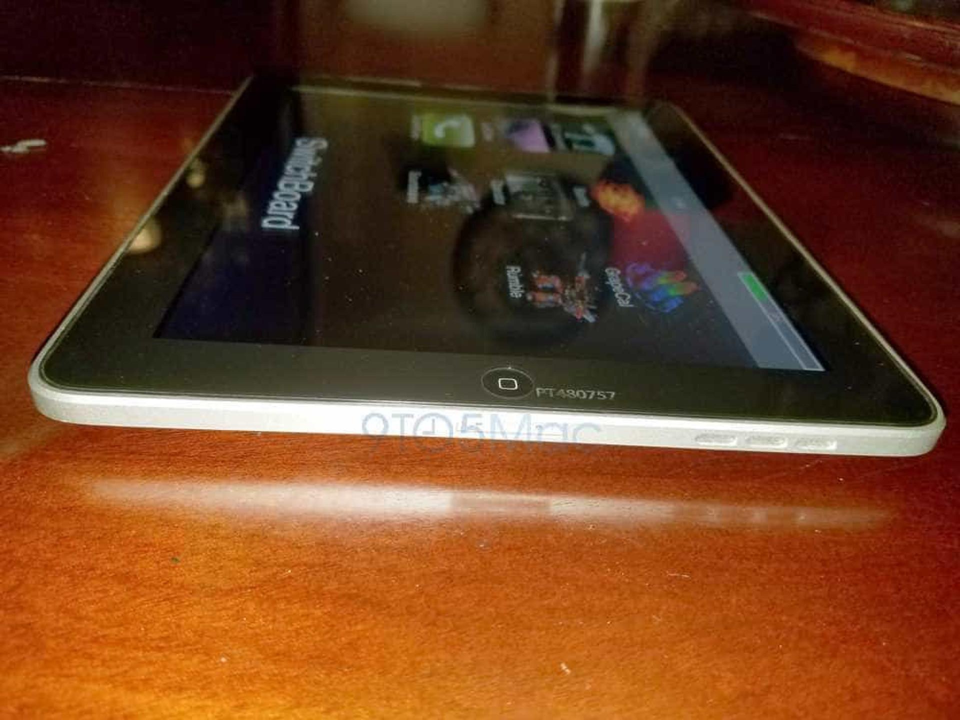 Foi com este protótipo que teve início o sucesso do iPad