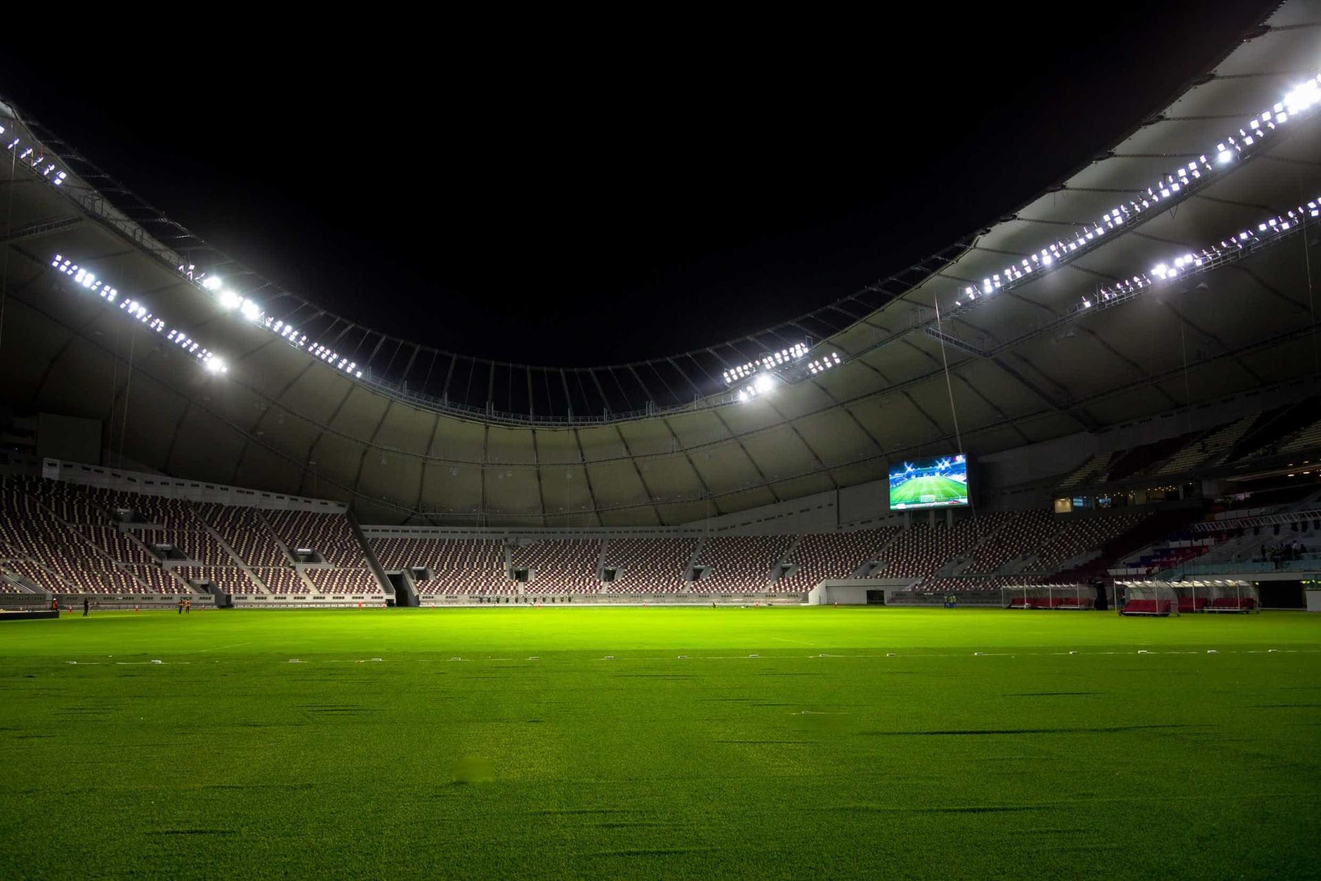 Veja as imagens do novo estádio que receberá o Mundial 2022 no Qatar