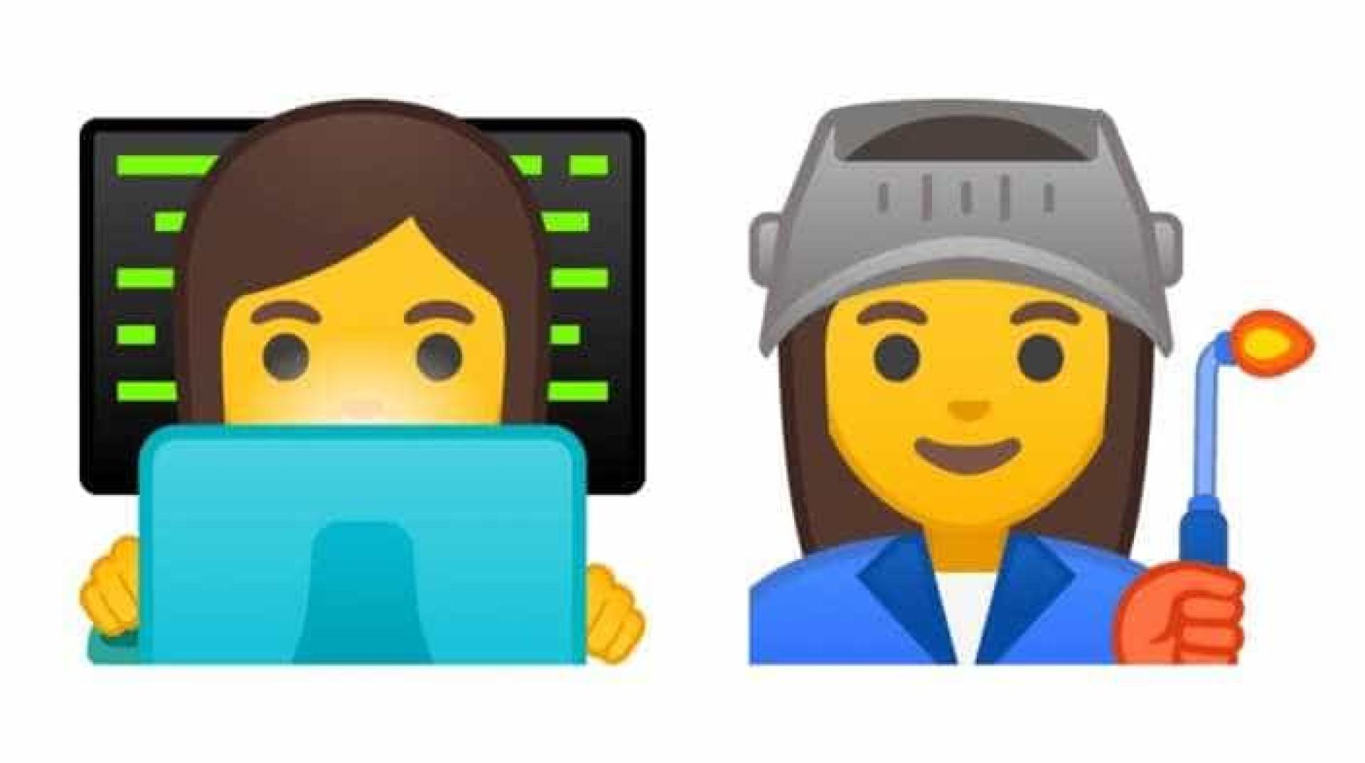 Está a chegar a nova versão do Android. Emojis vão ser alterados