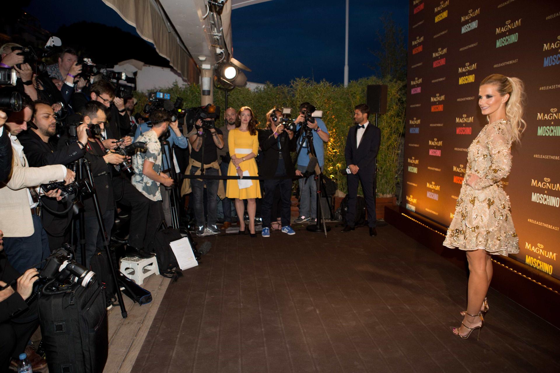 Cristina, Rita, Cara Delevingne e Jeremy Scott juntos em Cannes