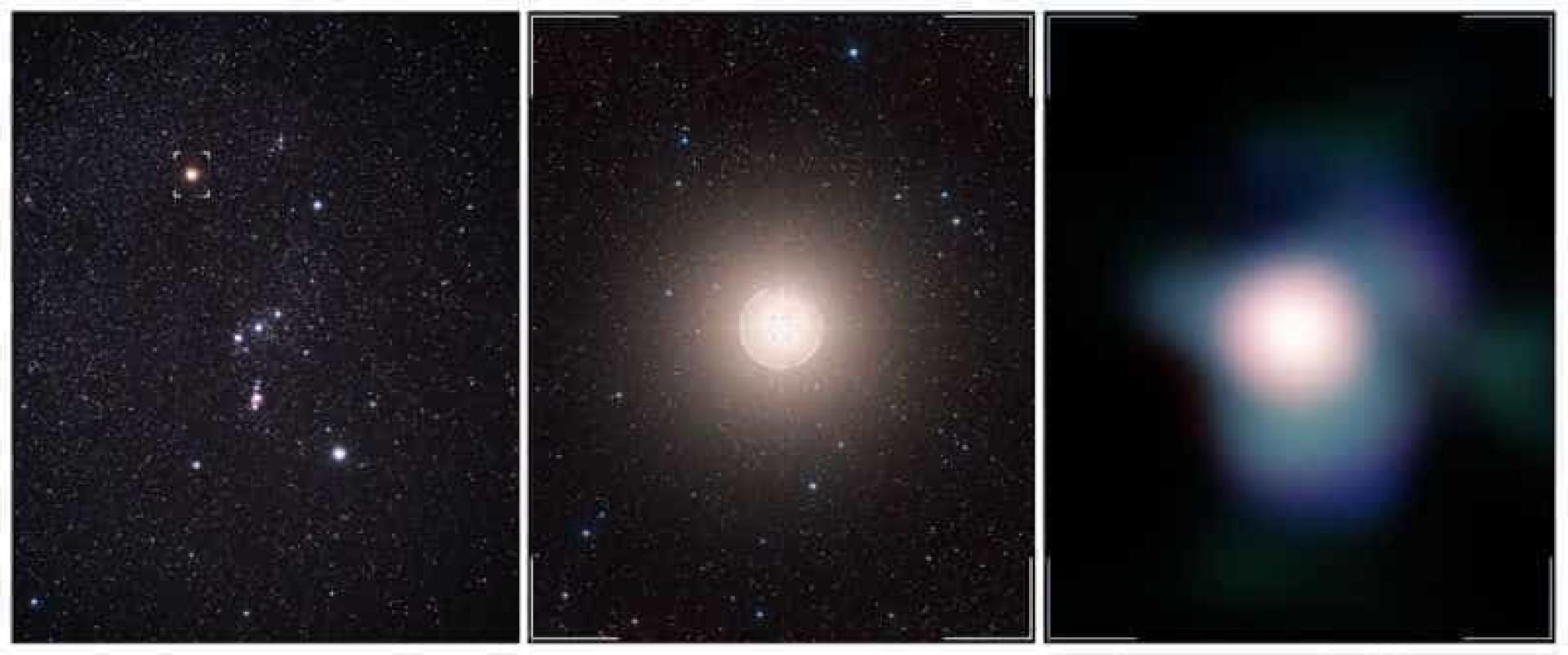 Astrónomos captam impressionante imagem da estrela de Orion