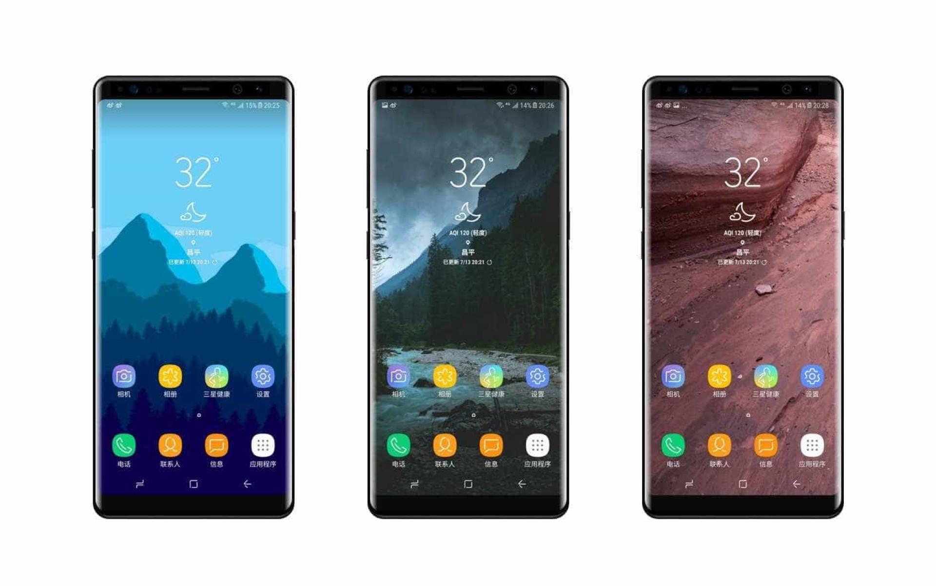 Imagens mostram os novos modos da câmara do Galaxy Note 8