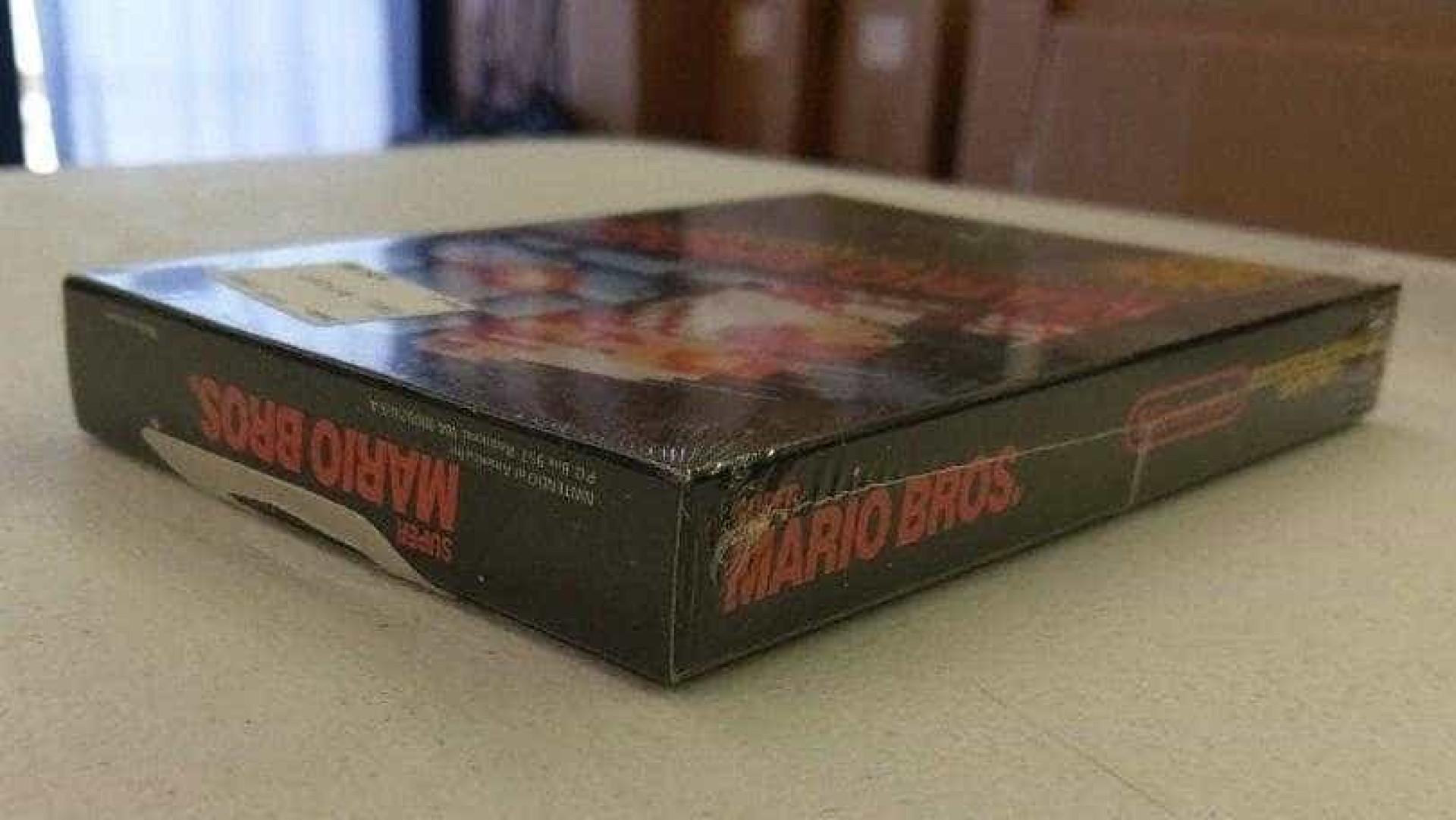 Cópia de 'Super Mario' original vendida por mais de 30 mil dólares