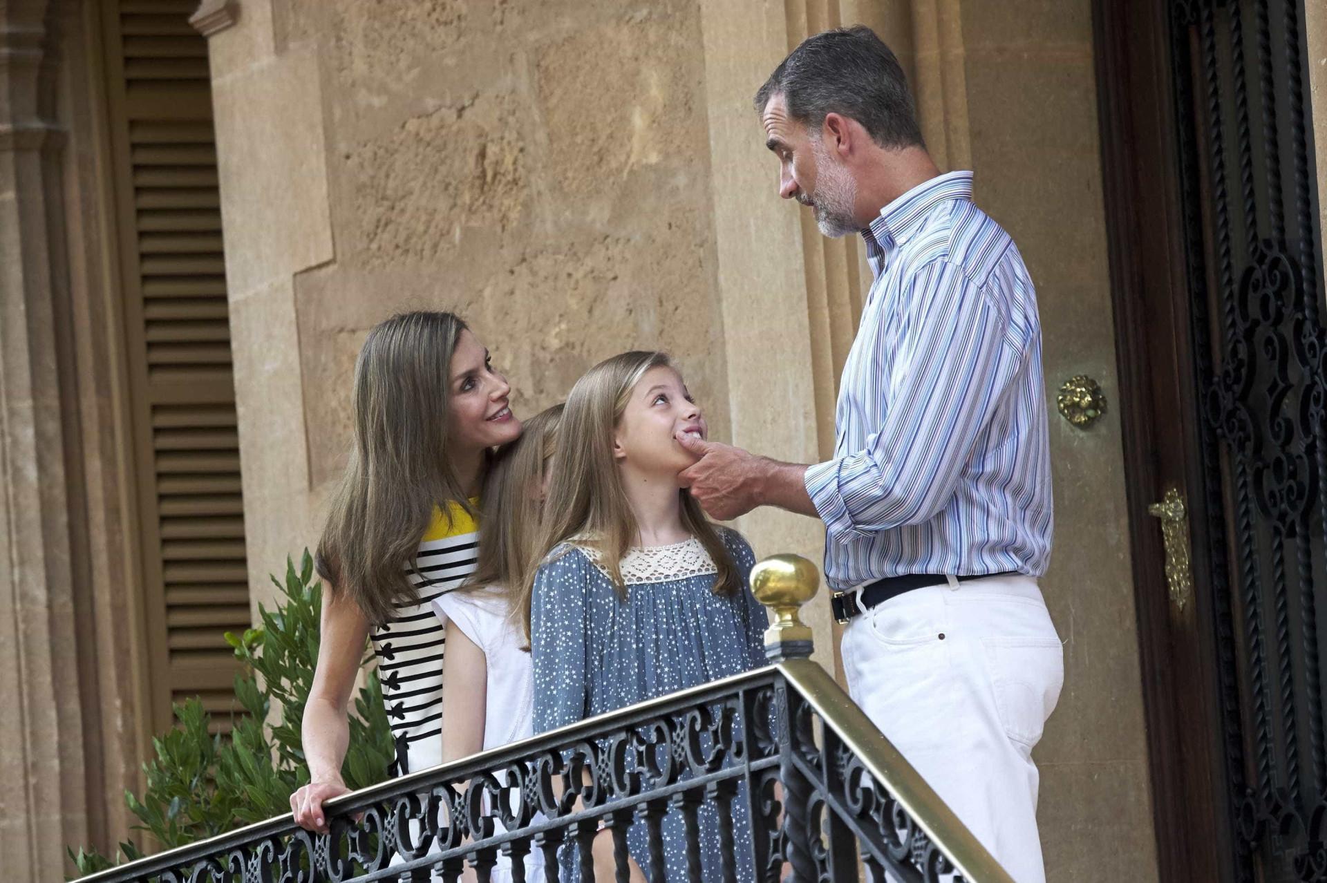 Reis de Espanha cumprem a tradição em Palma de Maiorca