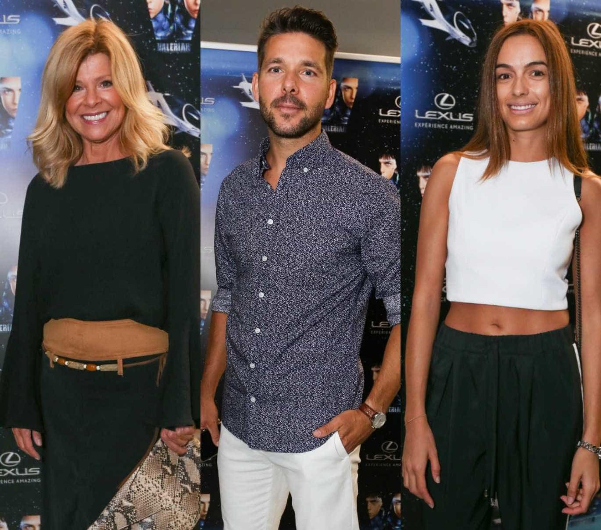 Famosos presentes na estreia de 'Valerian e a Cidade dos Mil Planetas'