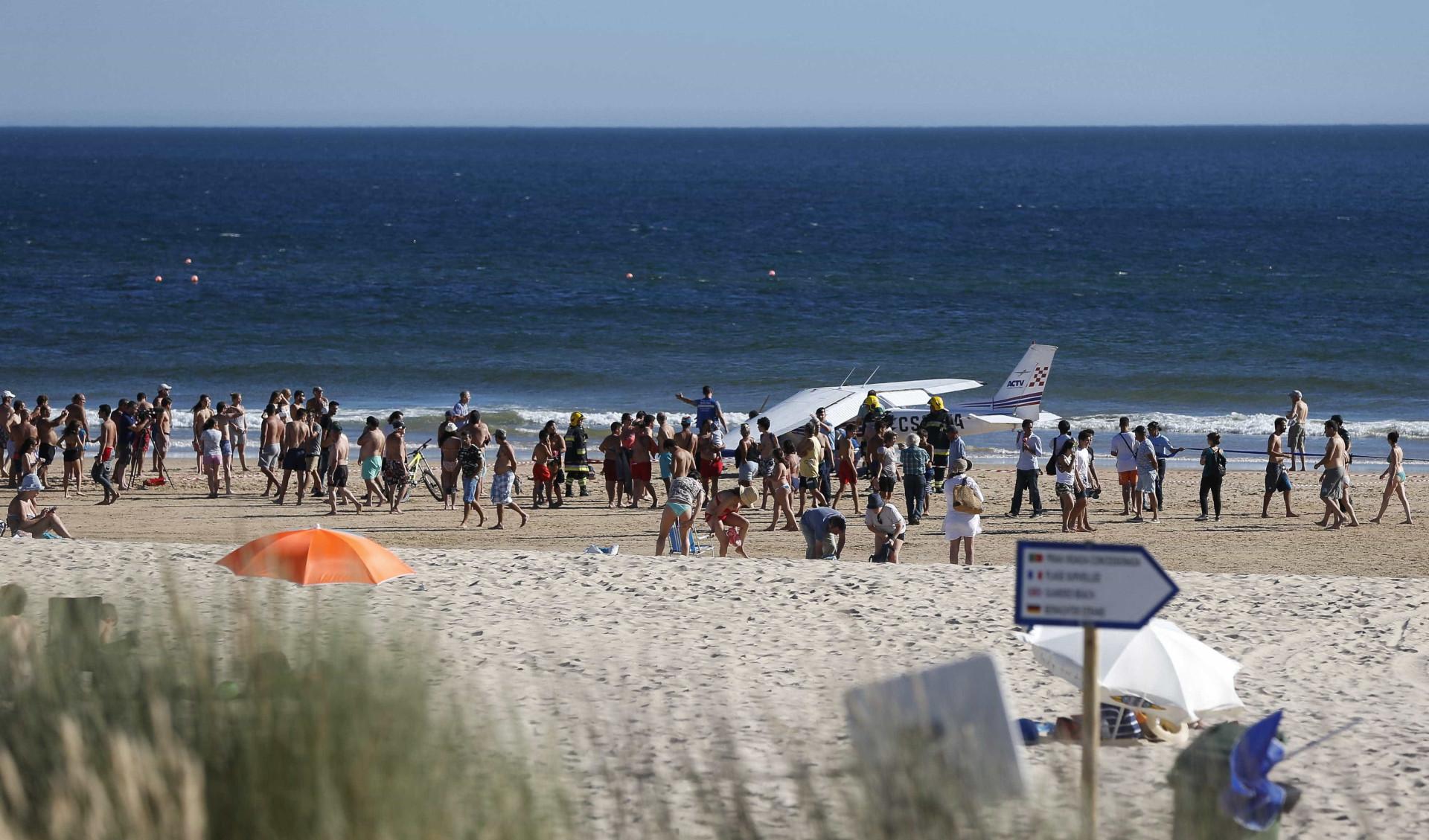 Veio do céu e sem aviso a tragédia que roubou vidas num dia de praia