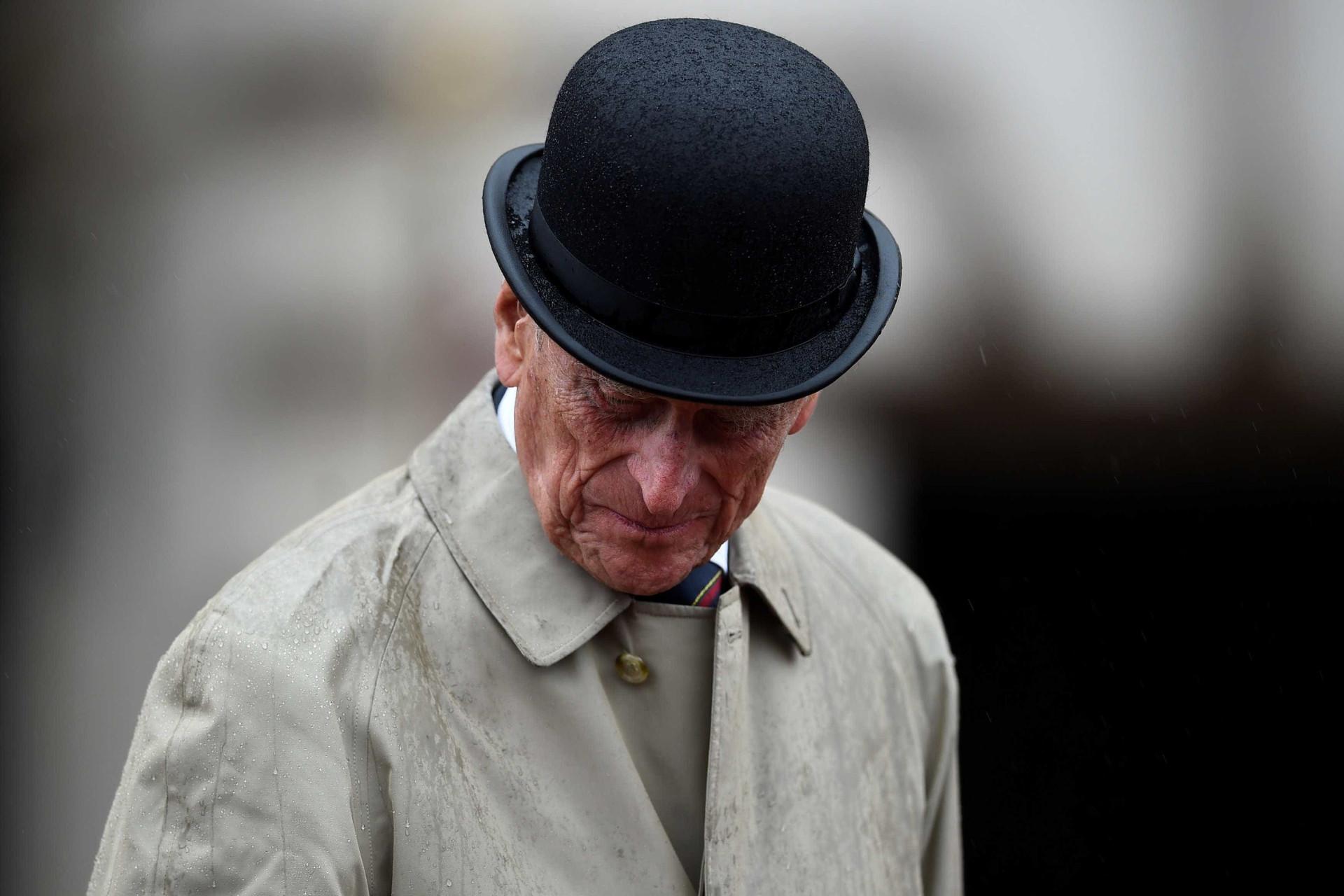 A despedida de Philip de Edimburgo no seu último ato oficial