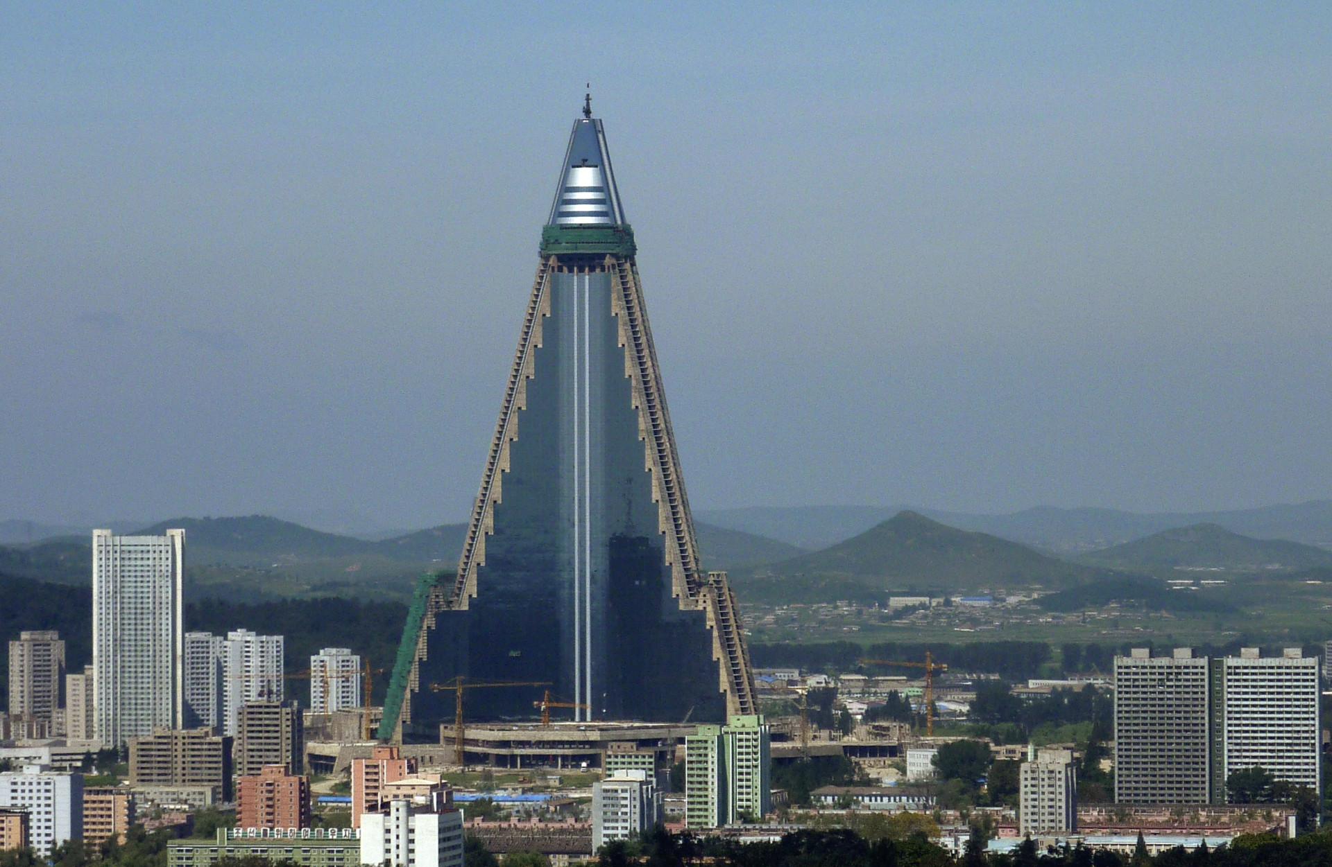 O milionário hotel fantasma da Coreia do Norte, há 30 anos sem hóspedes