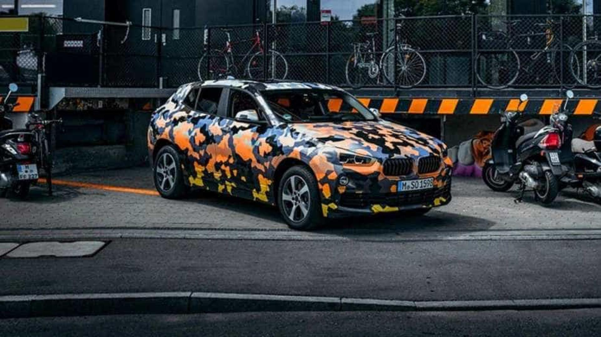 O BMW X2 está quase a chegar. Veja as primeiras imagens