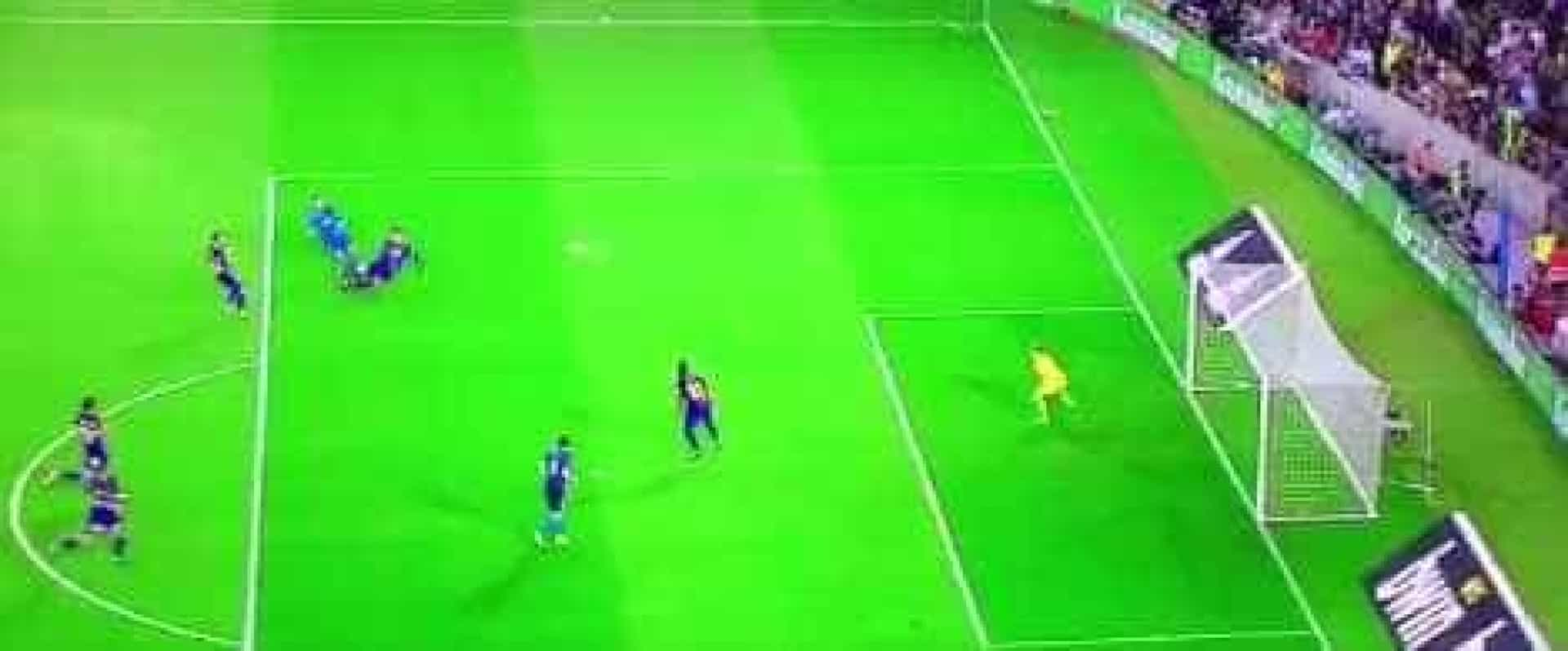 O extraordinário golo de Ronaldo frente ao Barcelona