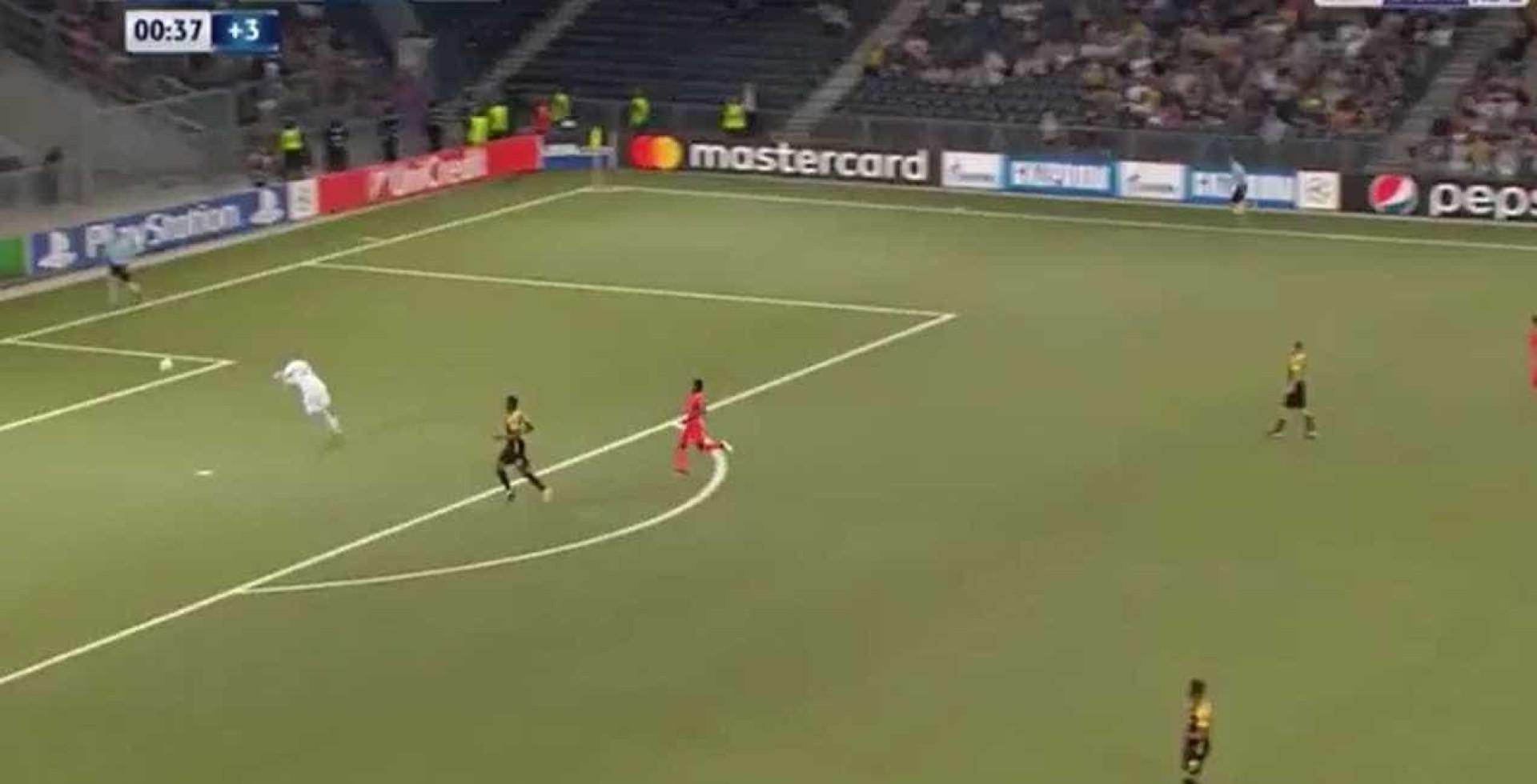 Kasim e um auto-golo que pode custar a eliminação na Liga dos Campeões