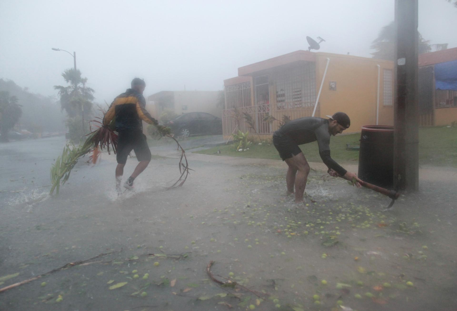 Do furacão Irma ao sismo do século no México: Imagens de destruição