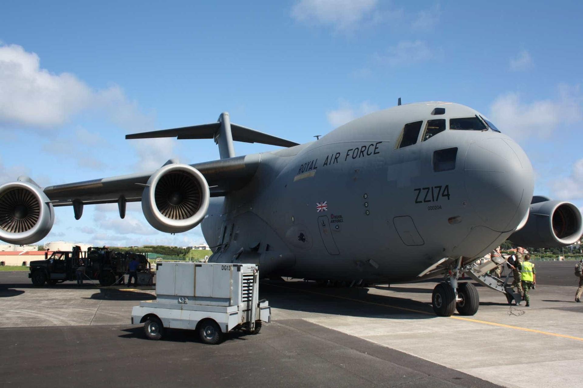 Força Aérea apoia tripulações que se dirigem para zonas afetadas por Irma