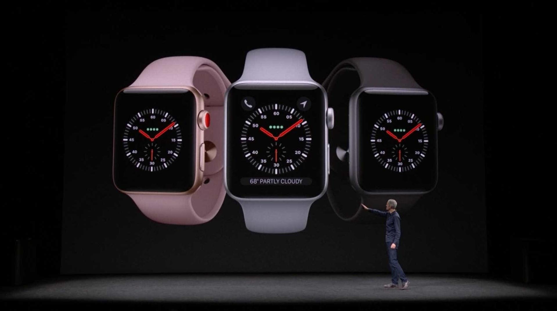 Poderá receber e responder a chamadas com o novo Apple Watch