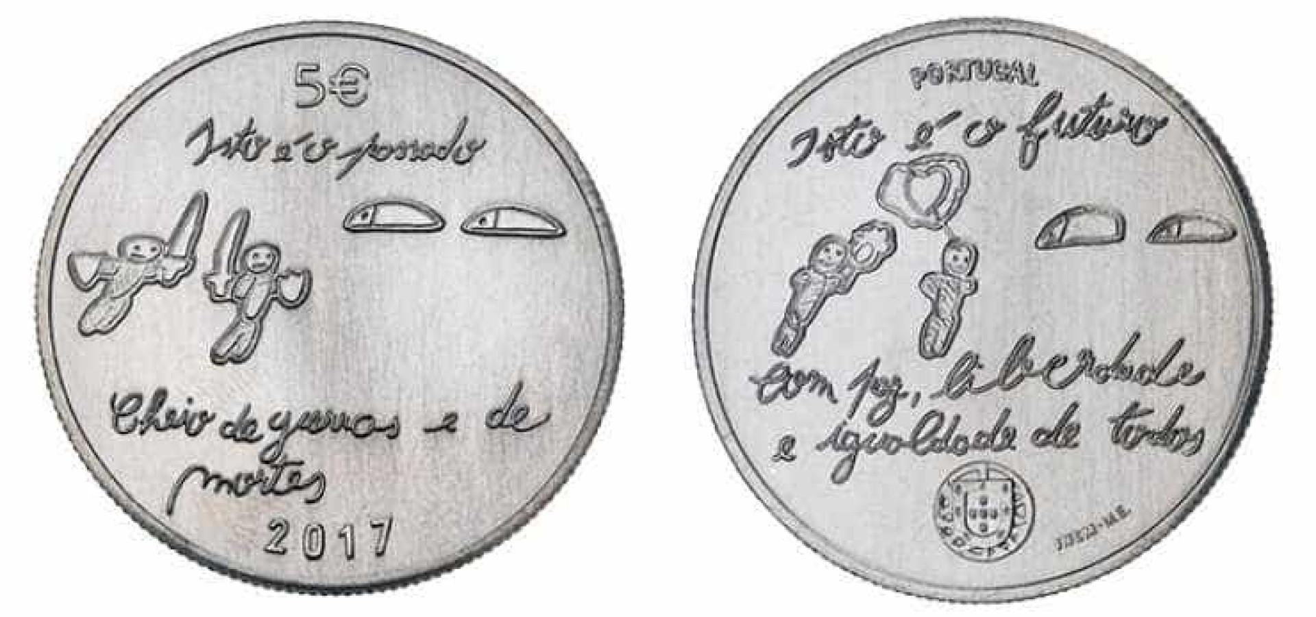 Banco de Portugal celebra futuro com moeda desenhada por crianças