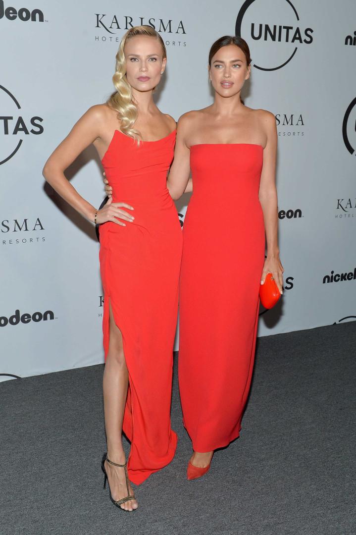 Vestidos iguais? Eis a reação de Irina Shayk e Natasha Poly