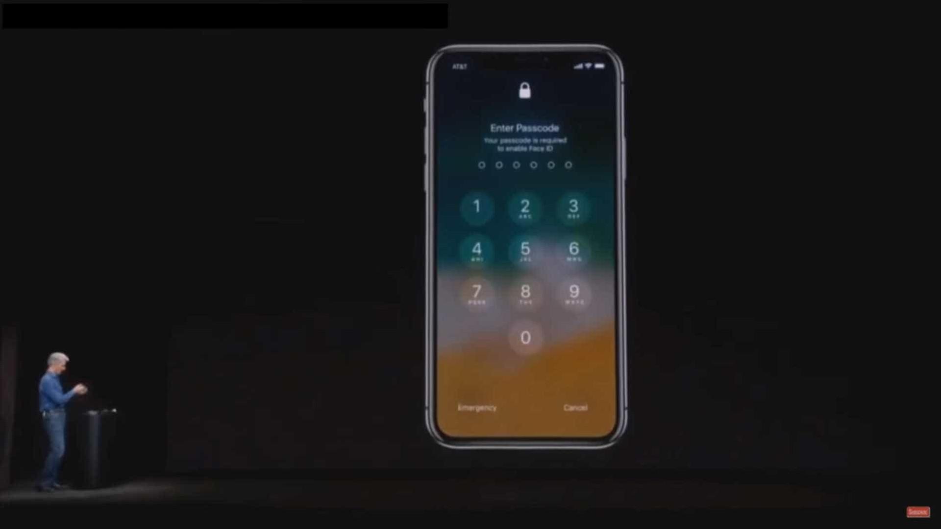 Veja o reconhecimento facial do iPhone X a falhar no pior momento
