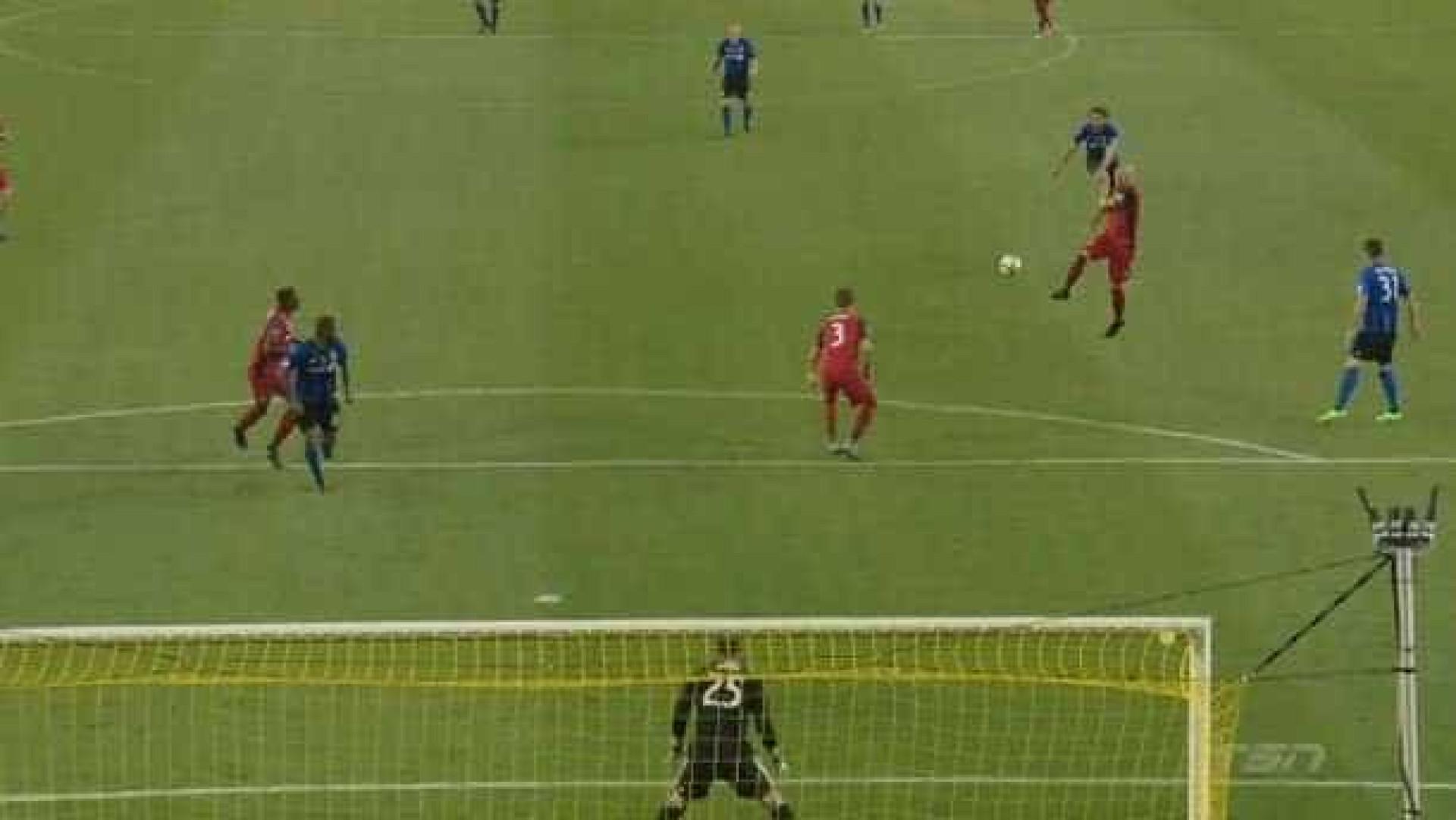 MLS: Donadel nem pediu licença. Um golaço para mais tarde recordar