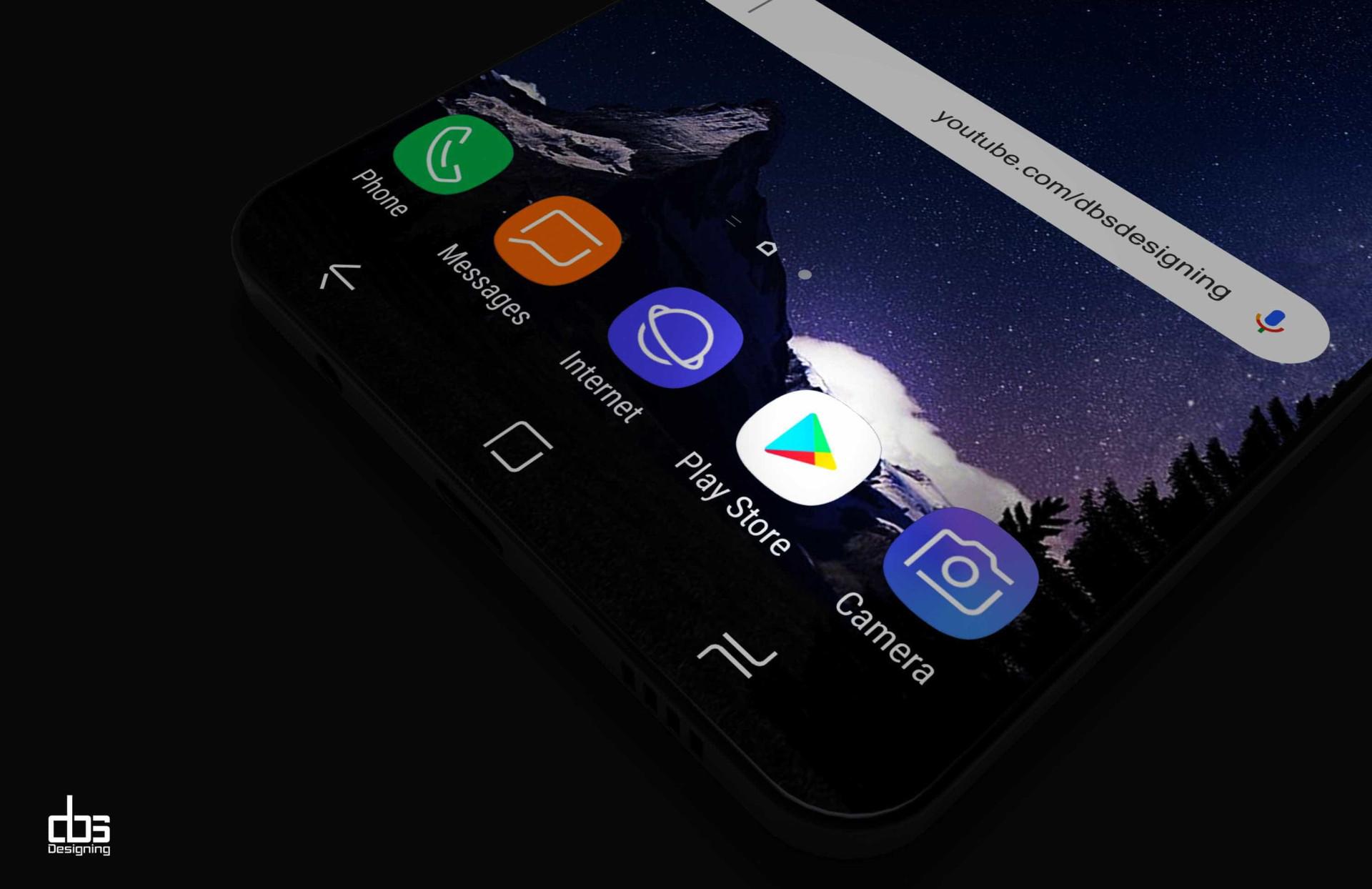 Ainda falta para o Galaxy S9 mas já pode admirar este 'concept'