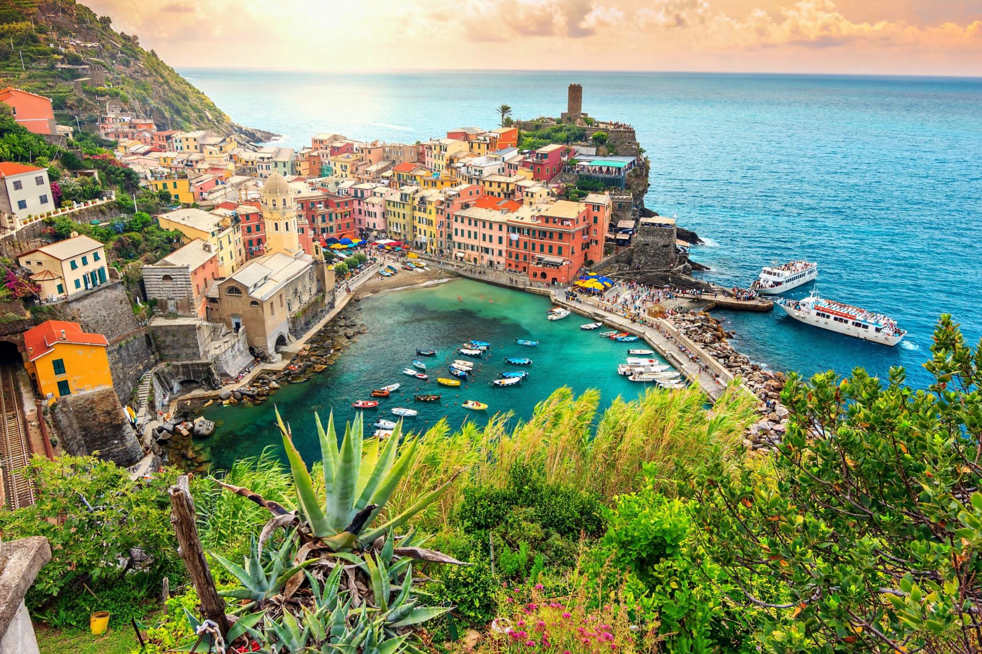 Estas são as localidades costeiras mais coloridas do mundo
