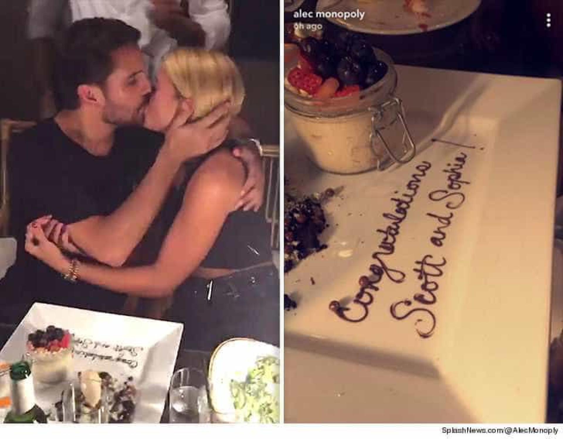 Amigos confirmam romance e felicitam Scott Disick e Sofia Richie