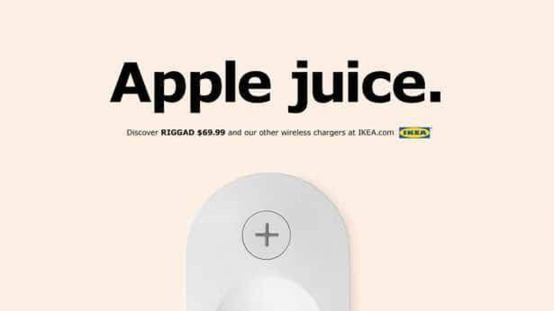 IKEA promove carregador sem fios… E lança 'farpas' à Apple