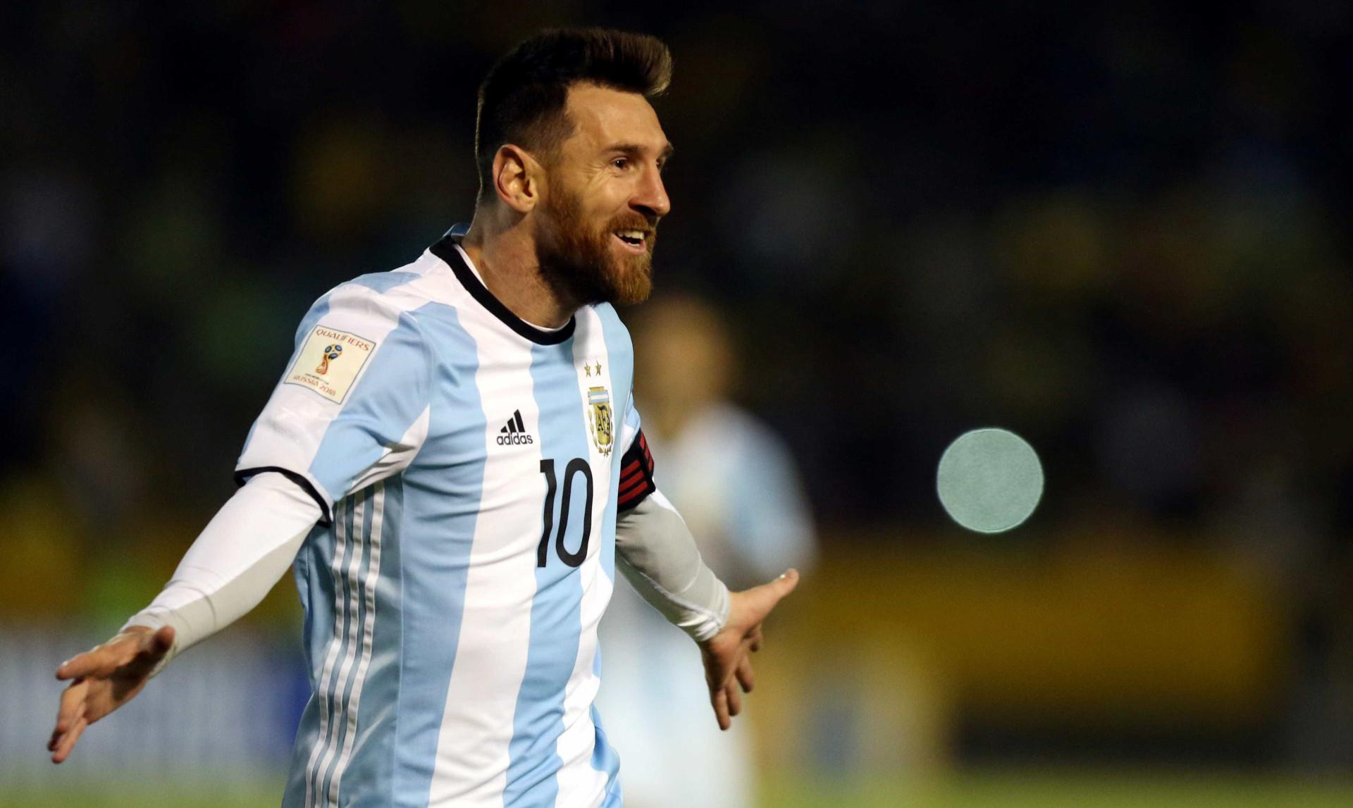 Mundial'2018: O incrível hat-trick de Messi que qualificou a Argentina