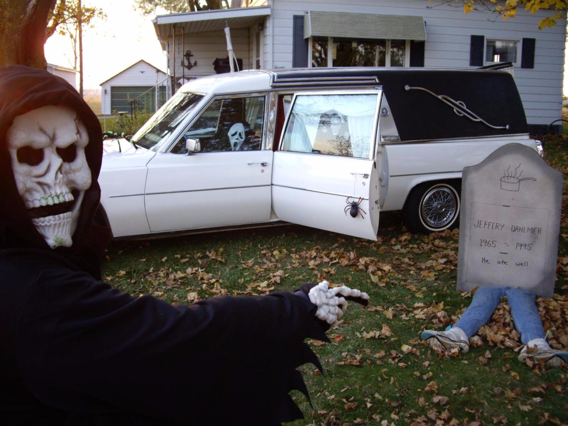 Já só pensa no Halloween? Inspire-se nestas casas assustadoras