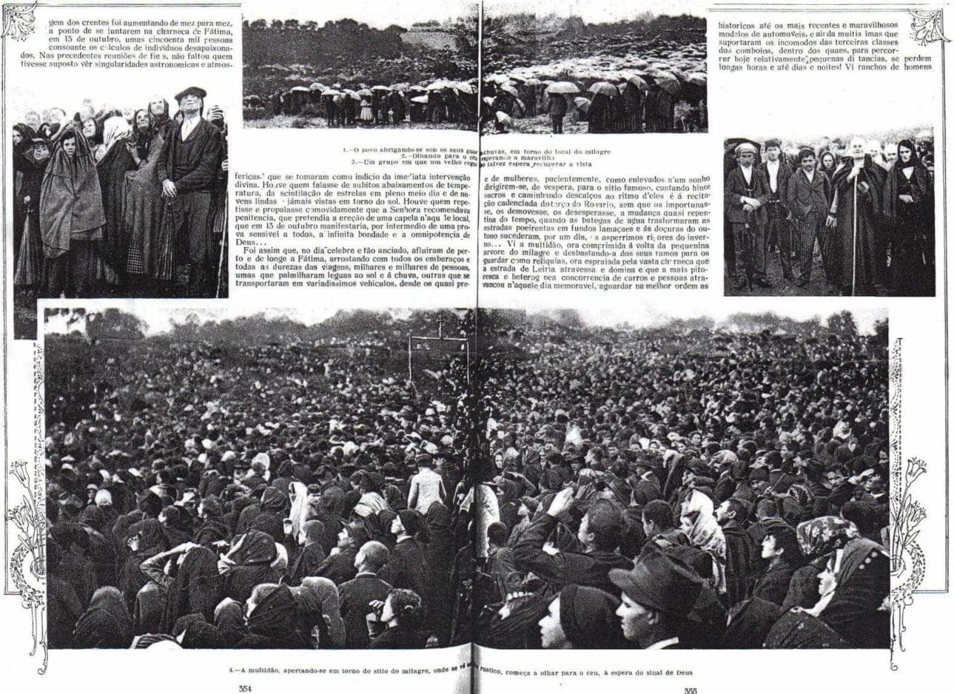 Faz hoje 100 anos que a Cova da Iria assistiu ao Milagre do Sol