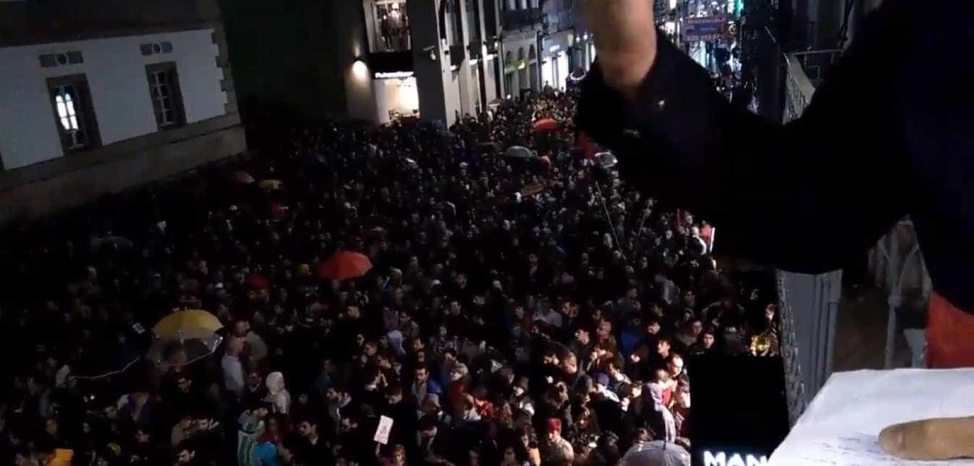 Milhares saem à rua na Galiza após quatro mortes em incêndios