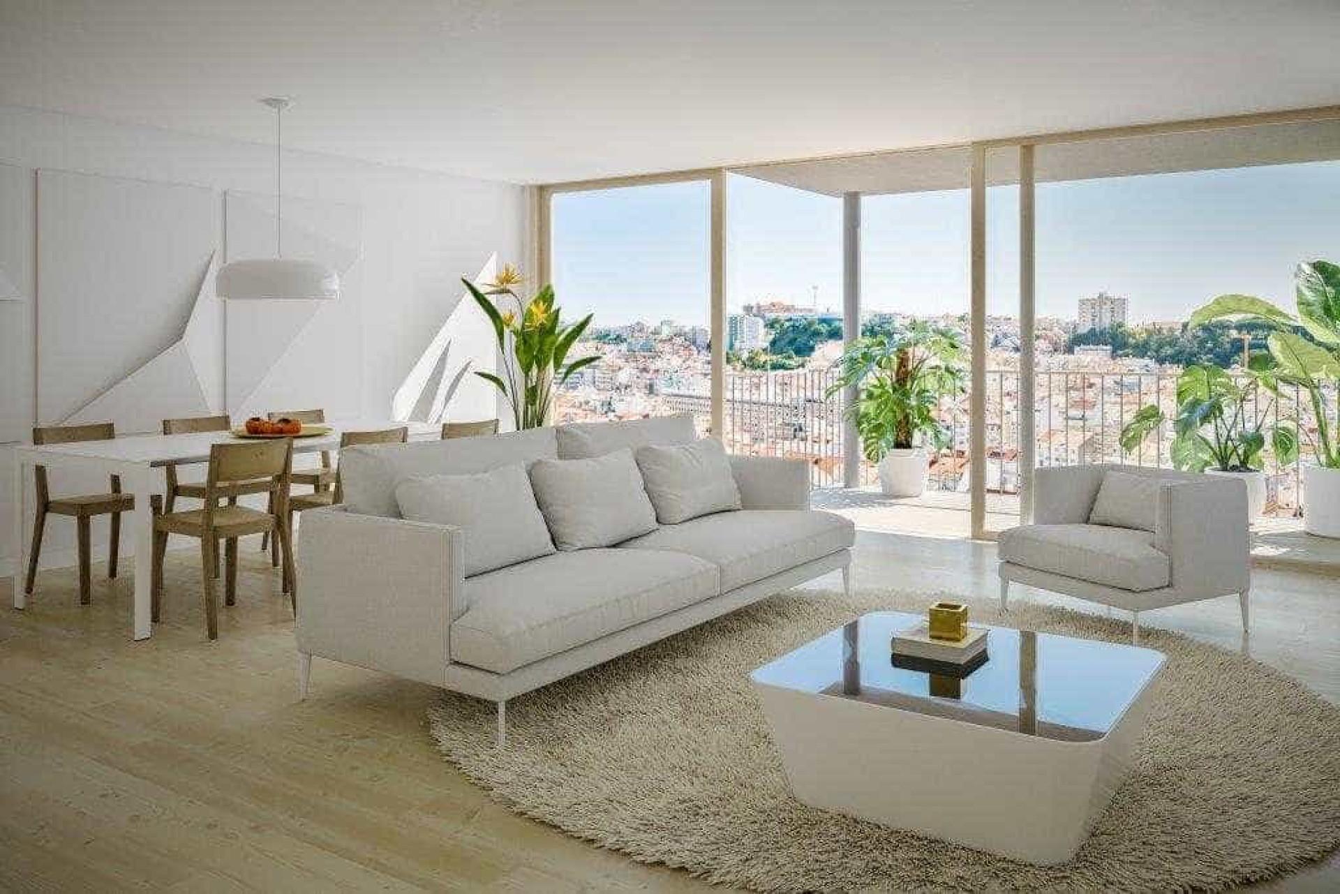 Scenic: Luxo e vista panorâmica nos novos apartamentos de Lisboa
