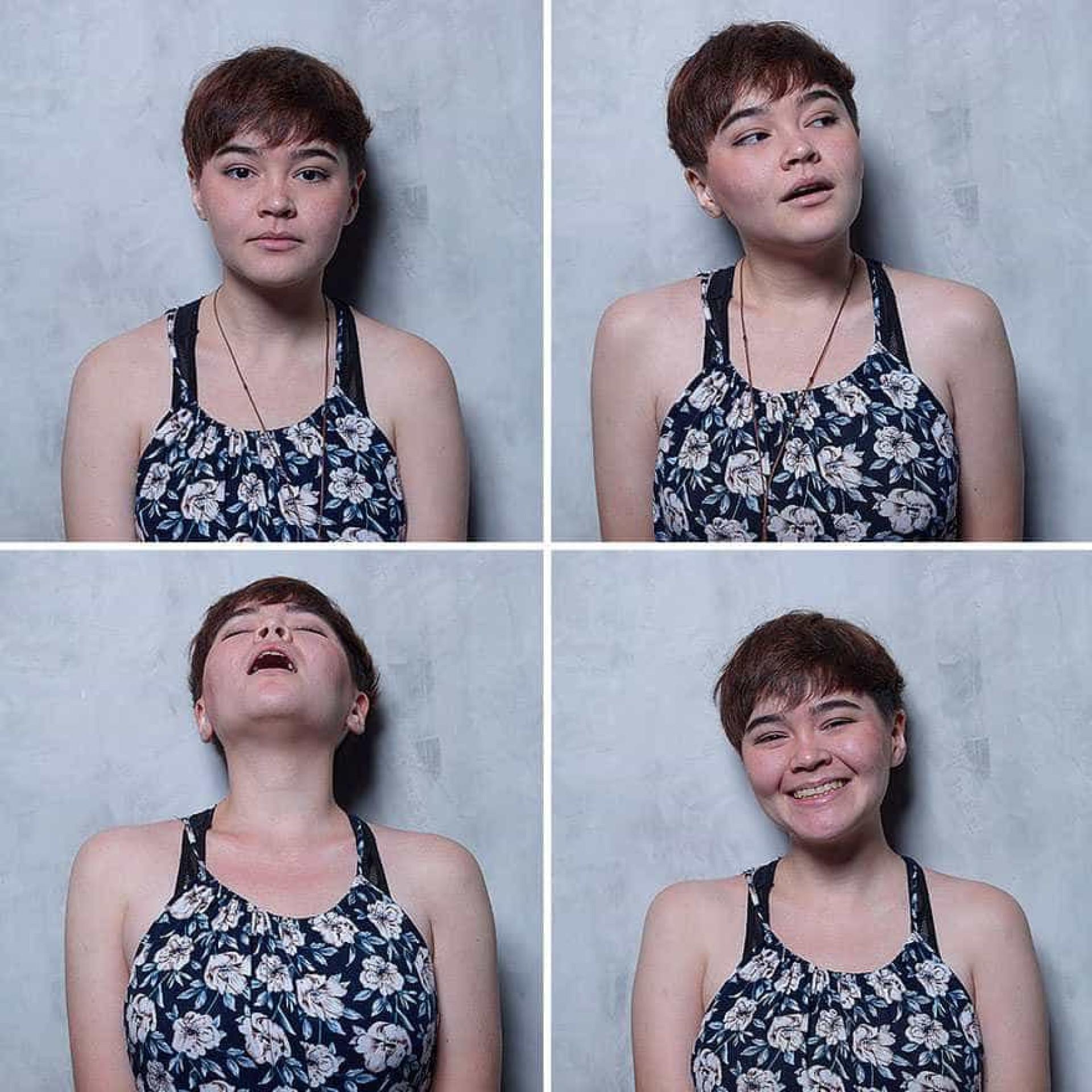 Mulheres antes e depois de um orgasmo a dar a cara pela sexualidade