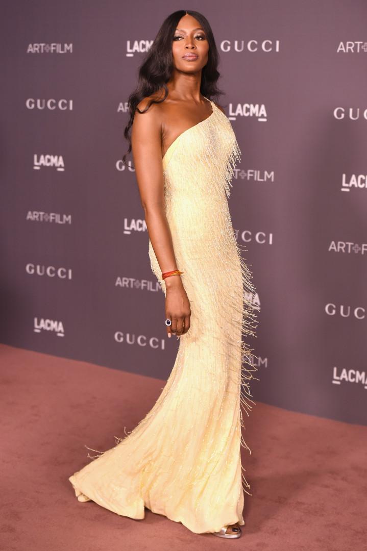 O estilo da modelo Naomi Campbell