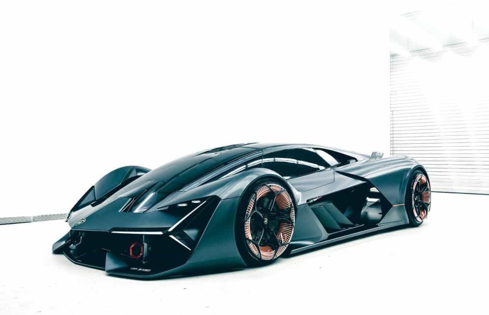 Um novo futuro? Concept da Lamborghini é capaz de se reparar sozinho