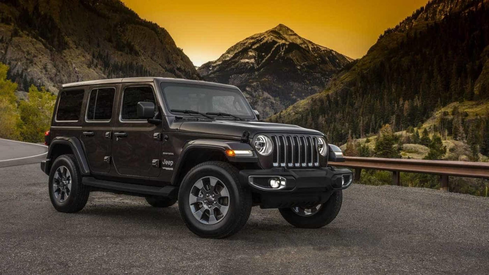O Jeep Wrangler só chega em dezembro, mas já pode dar uma espreitadela