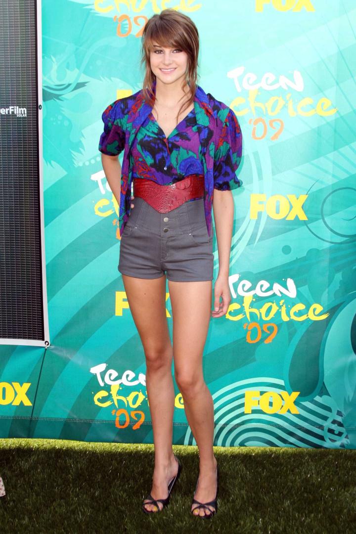 A evolução do estilo de Shailene Woodley