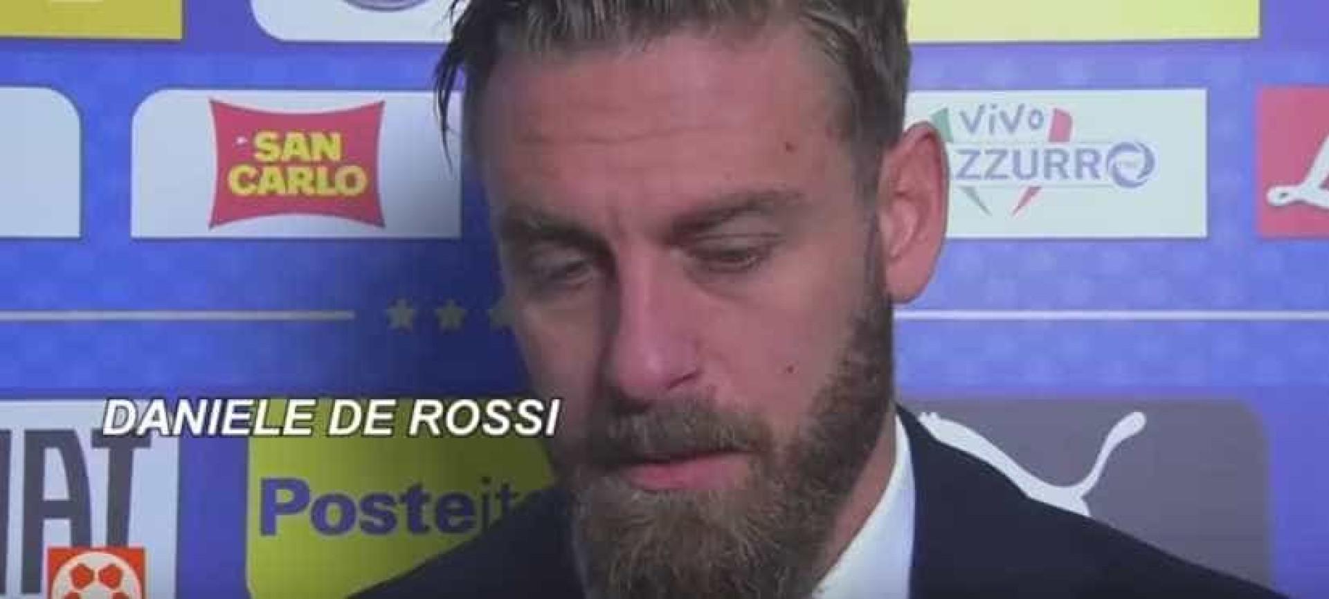 De Rossi junta-se a Buffon e também 'diz adeus' à seleção