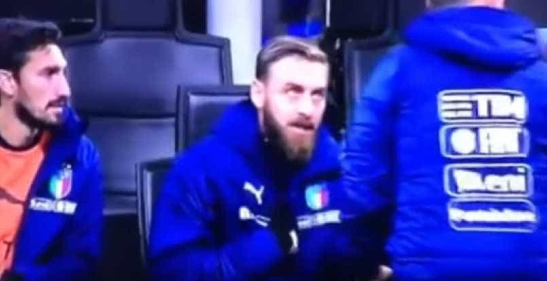 A reação 'furiosa' de De Rossi quando o técnico lhe pediu para aquecer