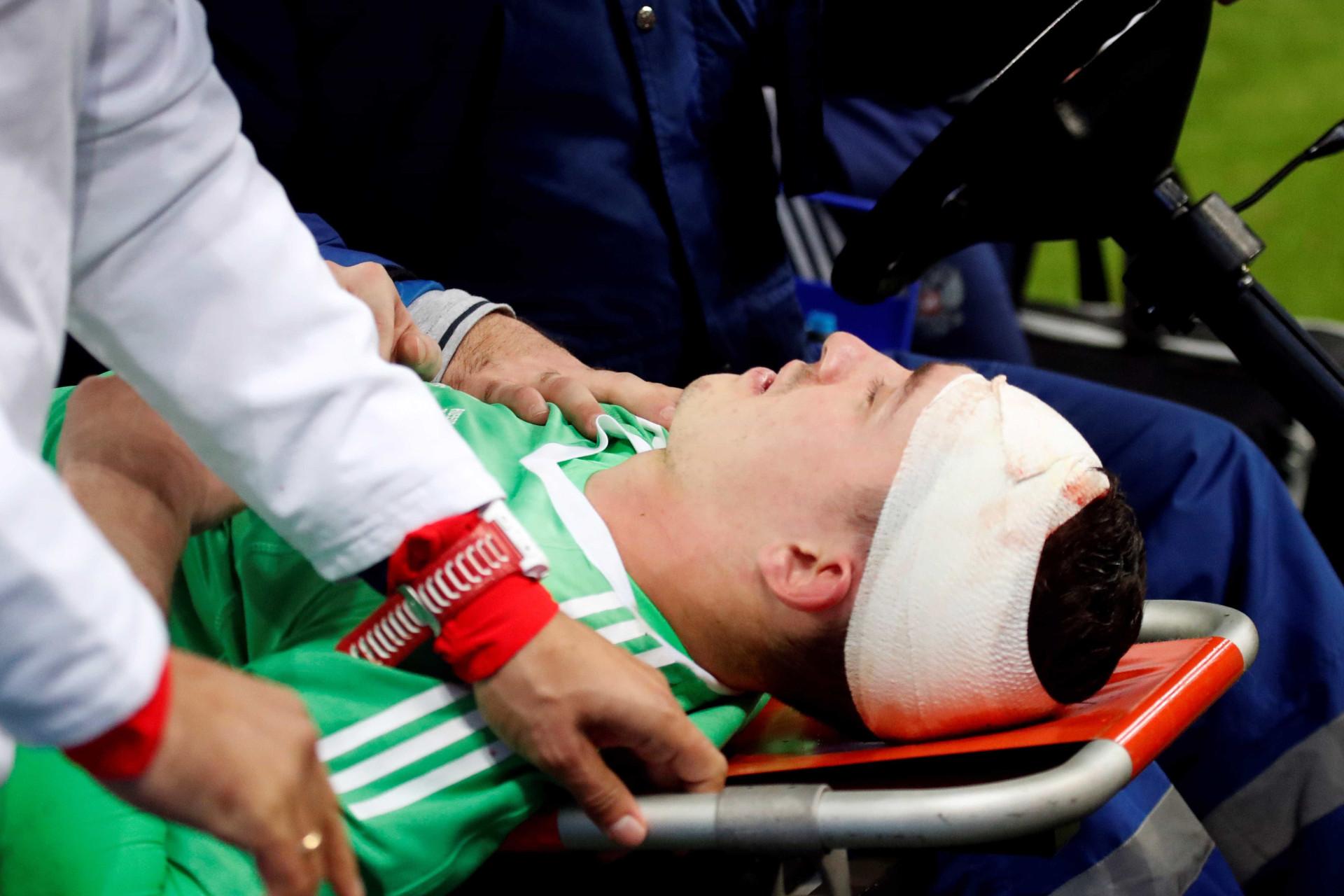 O violento (e arrepiante) choque com Rodrigo que deixou Lunev mal tratado