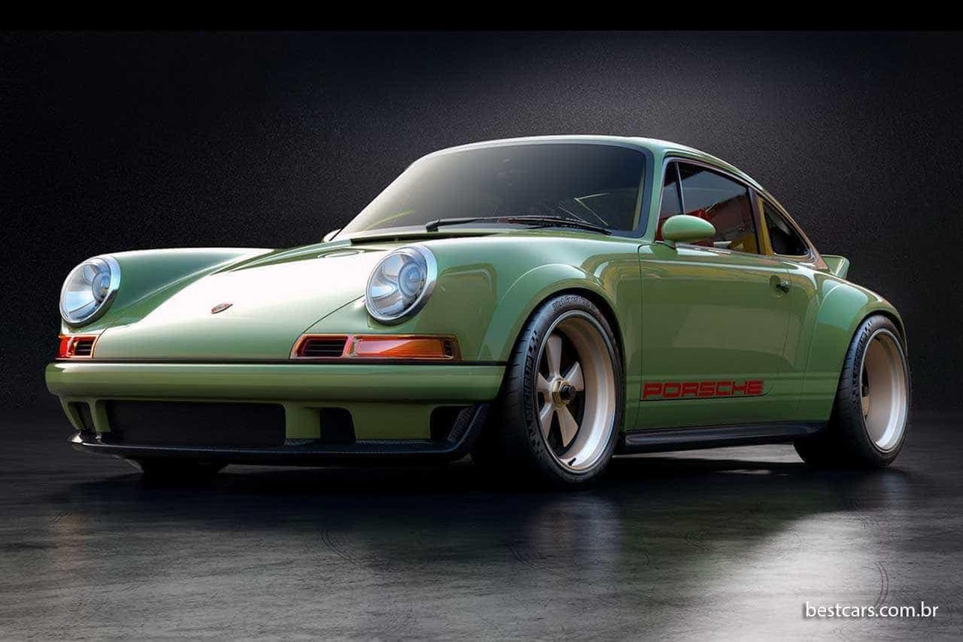 Porsche 911 Singer/Williams: Velhos são os 'chaços'