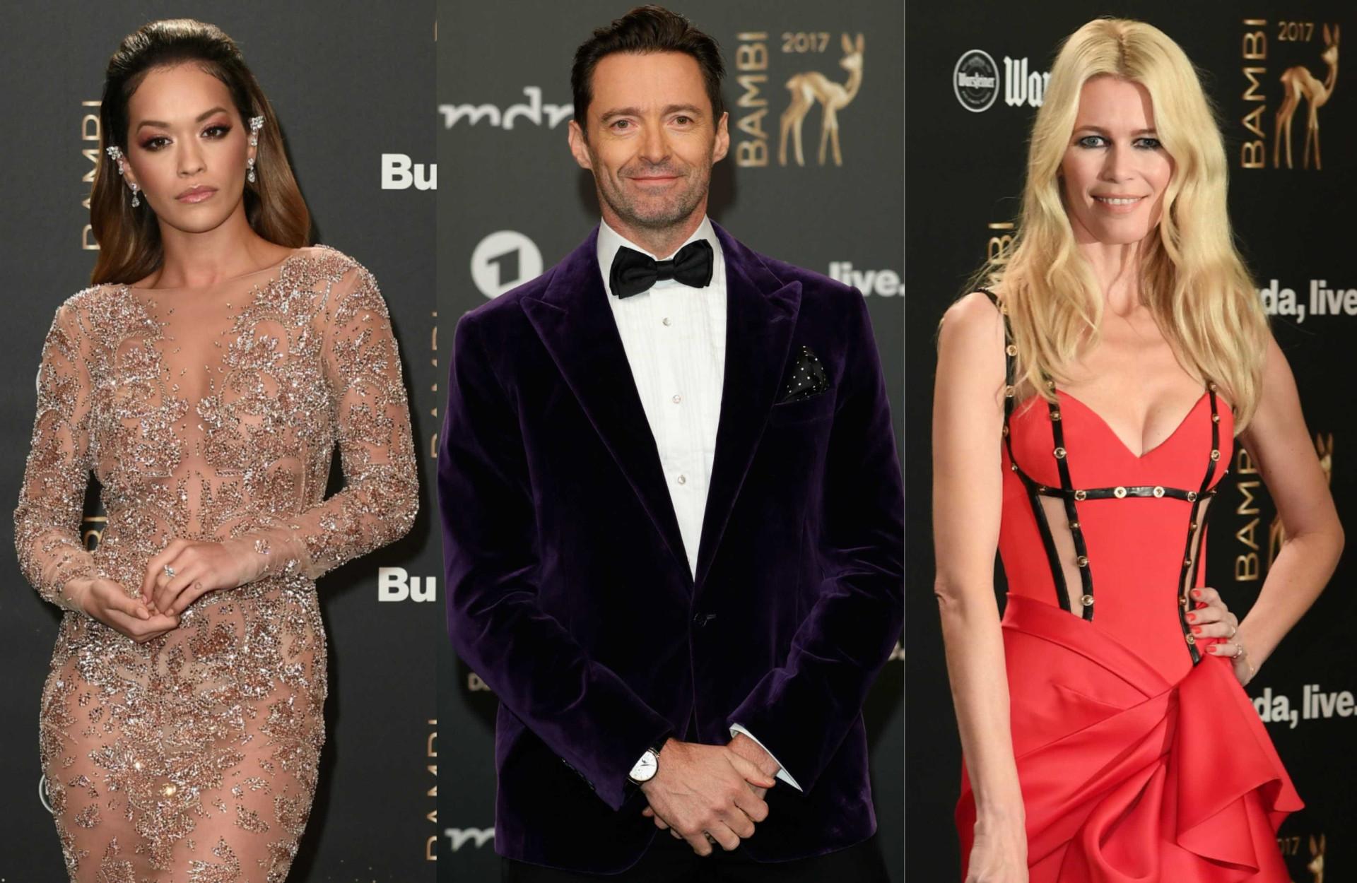Os looks das estrelas que passaram pelo Bambi Awards 2017