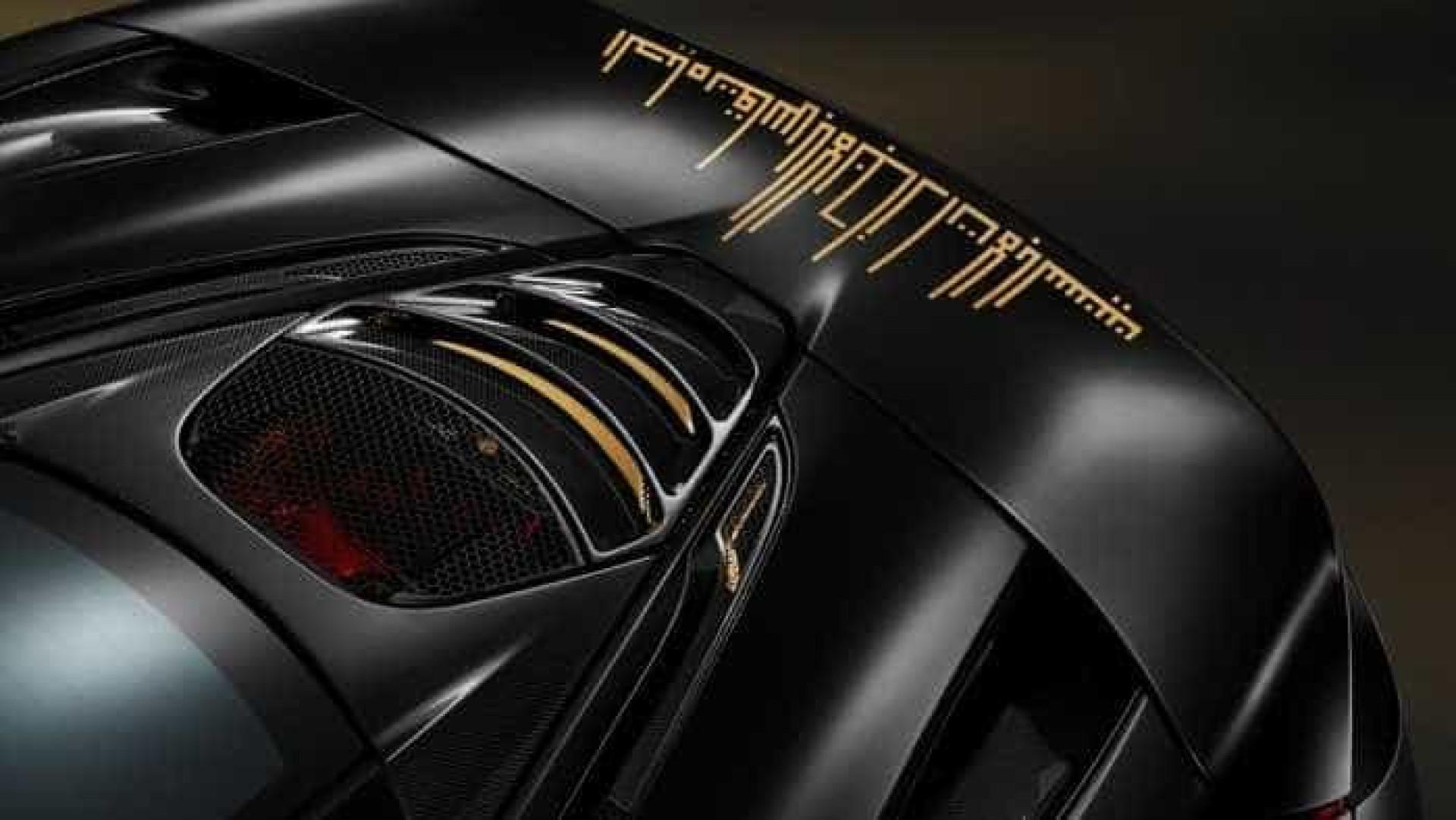Veja o McLaren 720S que está em exposição no Dubai