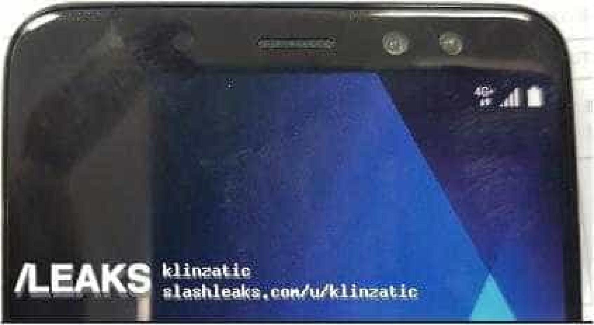 Imagem de novo smartphone da Samsung confirma duas câmaras frontais
