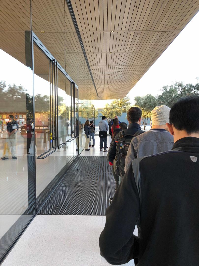 Venha conhecer o novo centro de visitantes da Apple