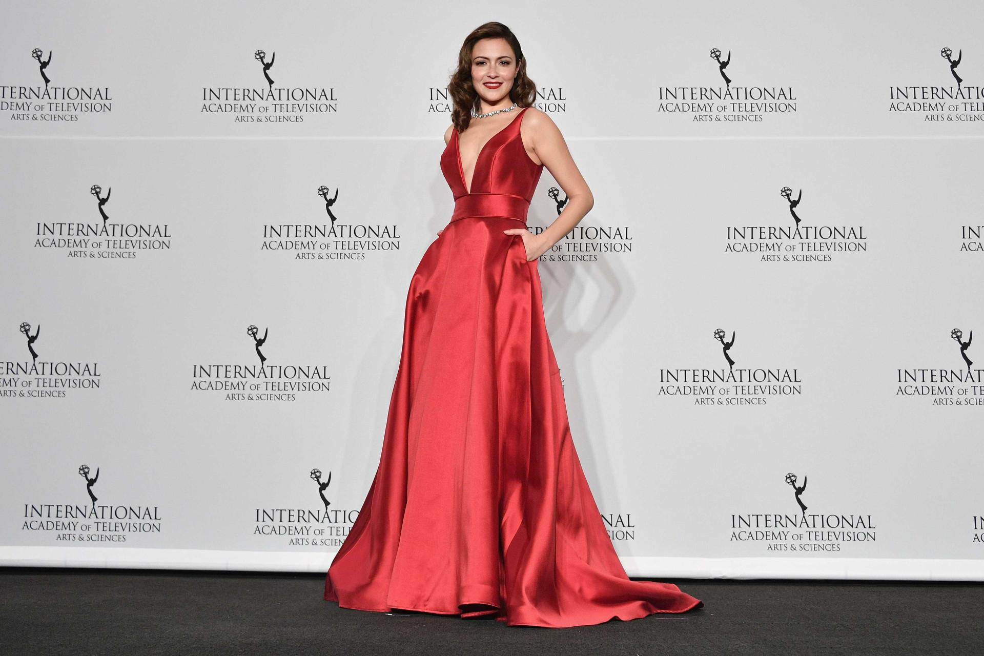 Fátima Lopes deslumbra em gala dos Emmy