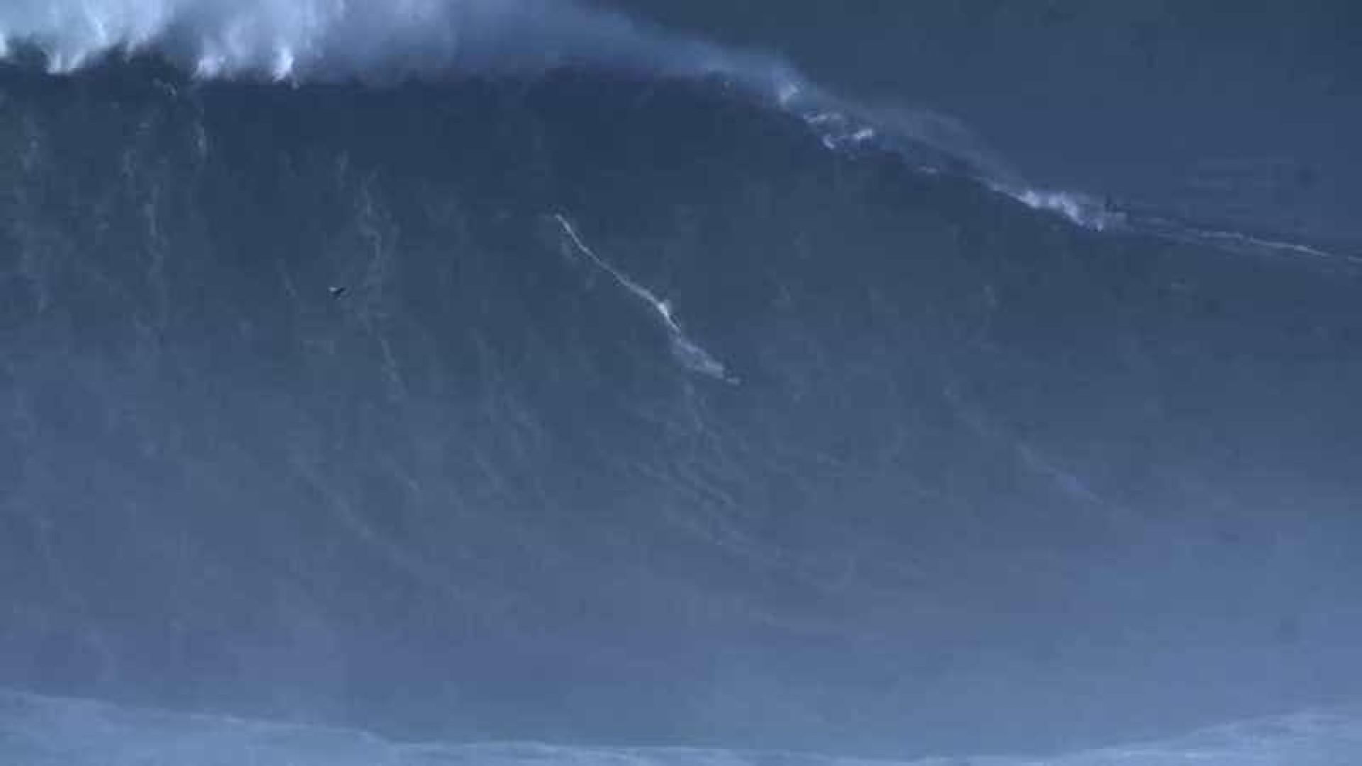 Brasileiro quebra recorde de McNamara com onda de 'outra dimensão'
