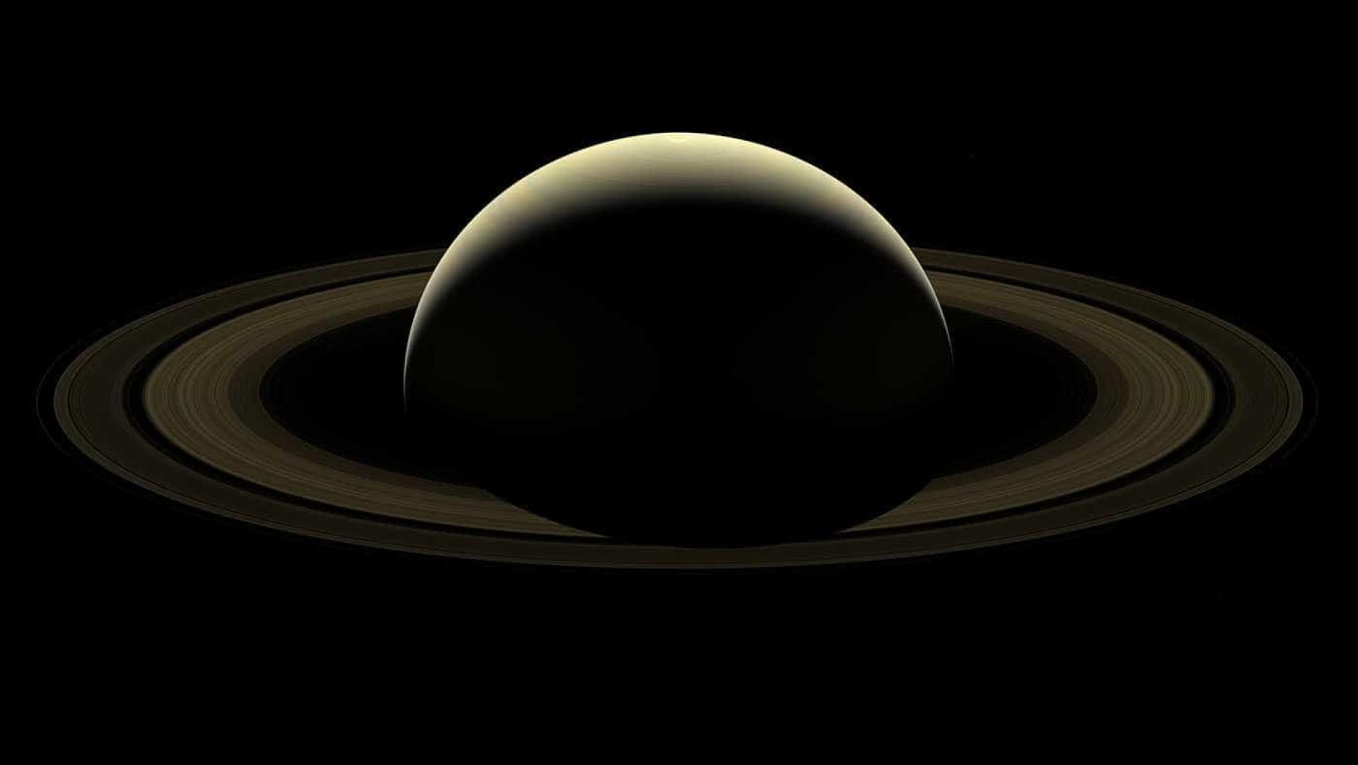 A última imagem captada de Saturno é também a mais impressionante