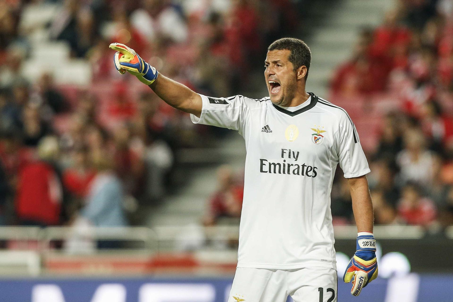 "Júlio César explica saída do Benfica: ""Foi muito difícil"""