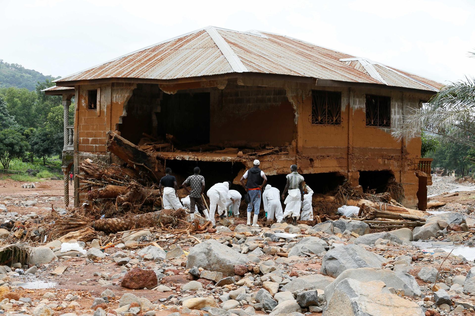 Desastres naturais. As imagens que marcaram o ano