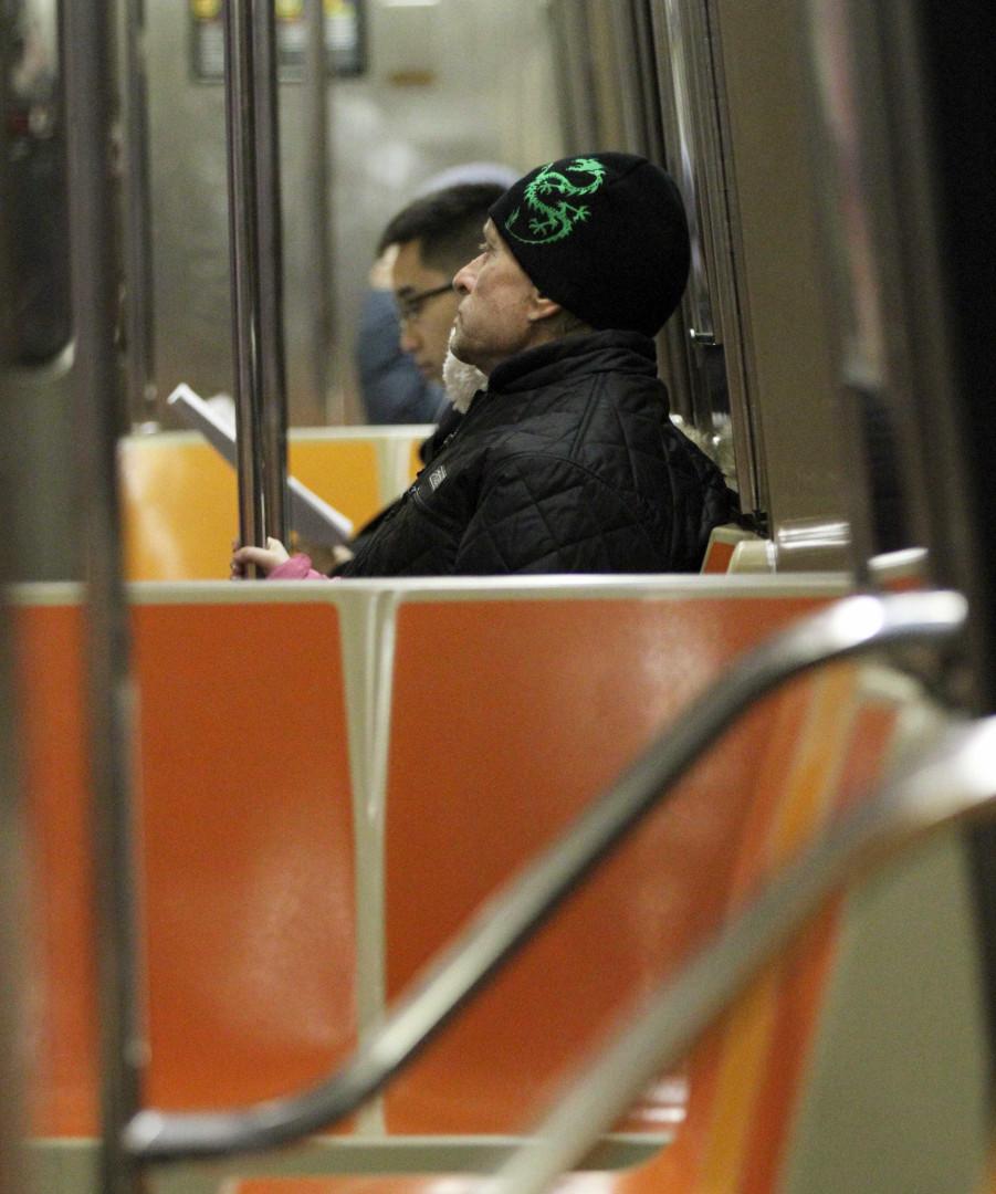 Quando as celebridades andam de metro
